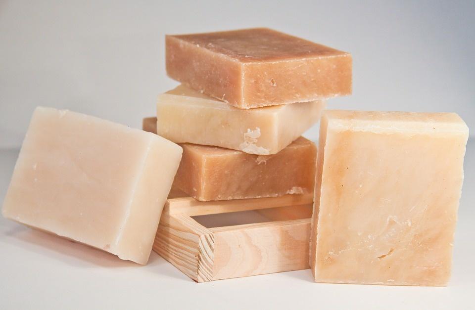 Natural shampoo soap