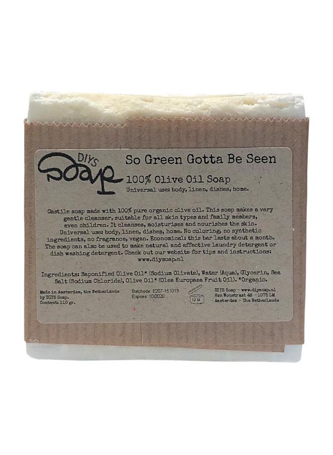 100% Olive Oil Soap - Mild cleanser