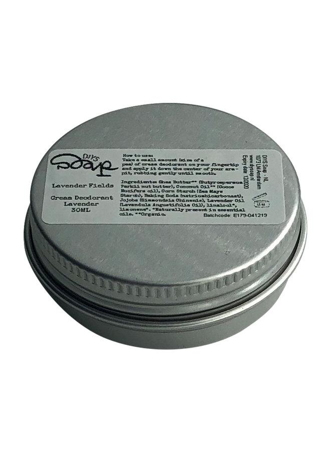 Moisturising Deodorant Cream Lavender Fields