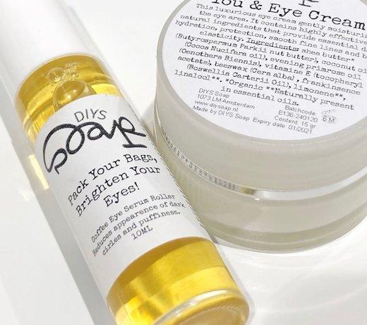 Natuurlijke oogcrème of serum