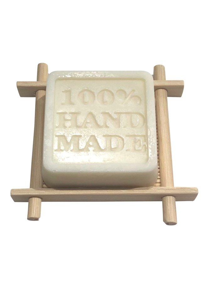 Nice small soap dish made of bamboo