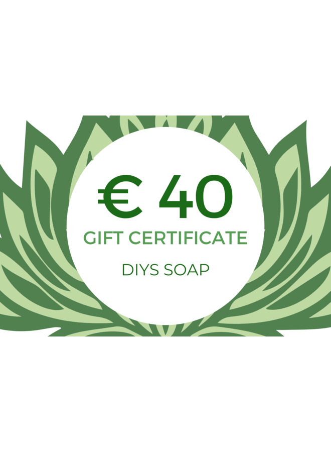 Gift Certificate € 40