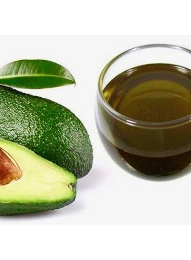 Ongeraffineerde pure avocado olie