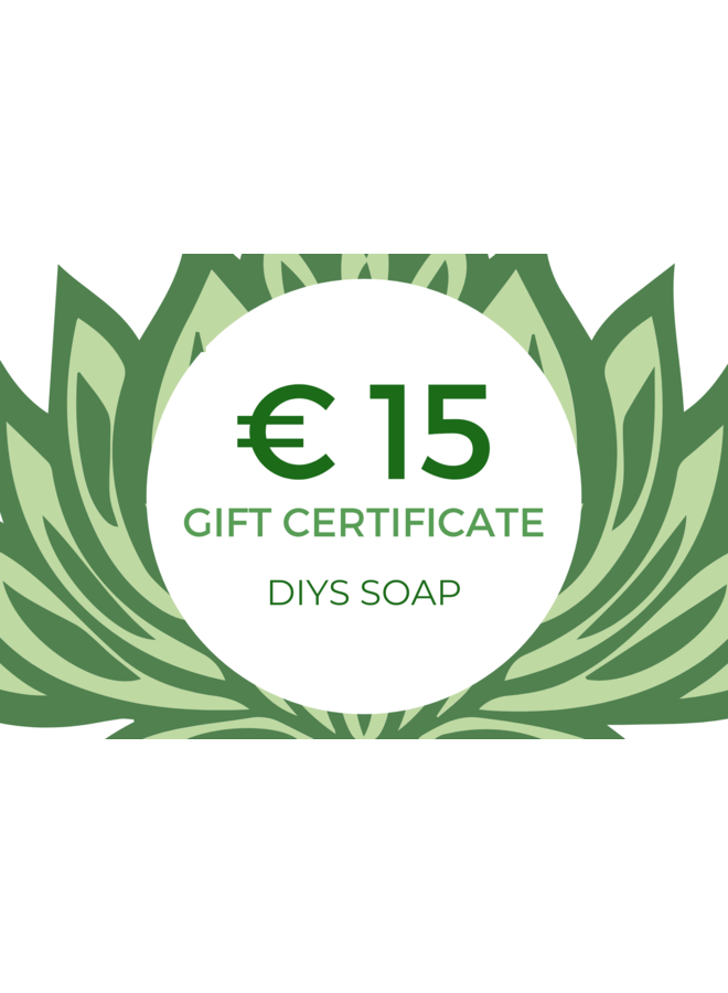 Gift Certificate € 15,00