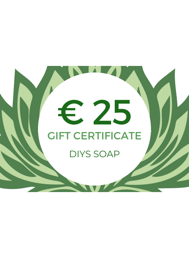 Gift Certificate € 25,00