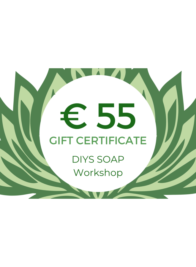 Cadeaukaart Workshop Parfum Maken DIYS Soap