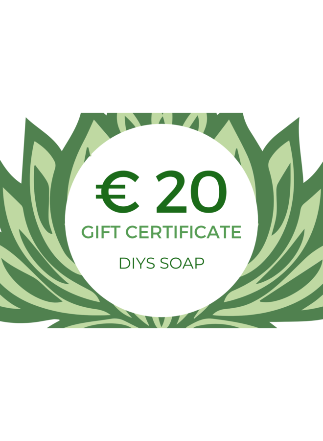 Gift Certificate € 20,00