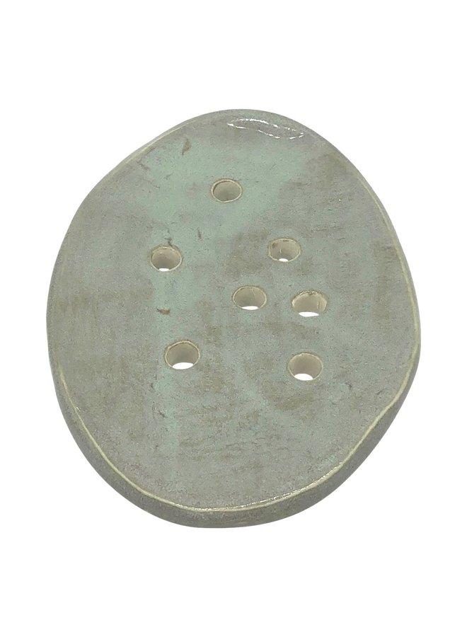Oval Ceramic Soap Dish