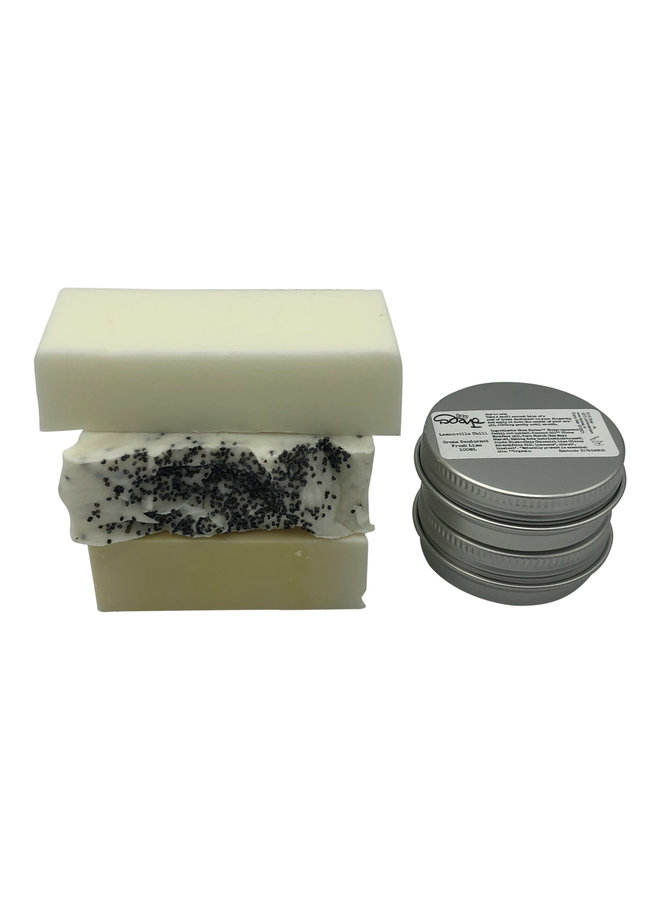 Maandelijks Abonnement voor zeep en deodorant