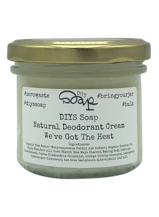 Moisturising Deodorant Cream Heat