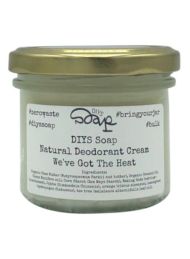 Verzorgende deodorant Crème Heat