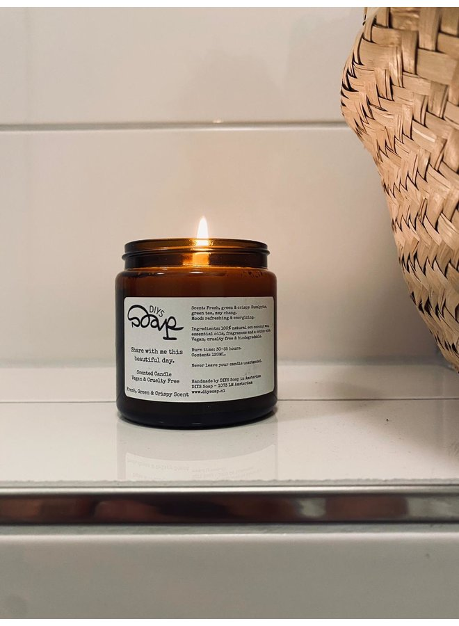 Relaxing Candle Wild Lavender and Pine