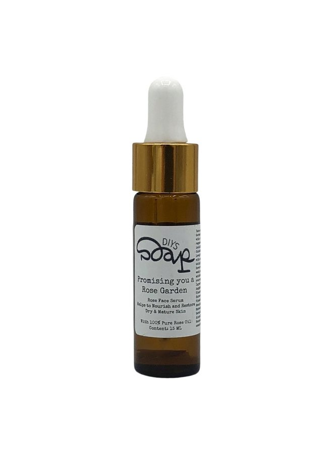 Face Serum with pure rose oil