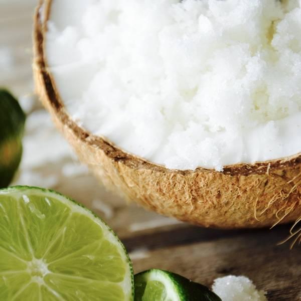 Kokos Limoen Suiker Scrub