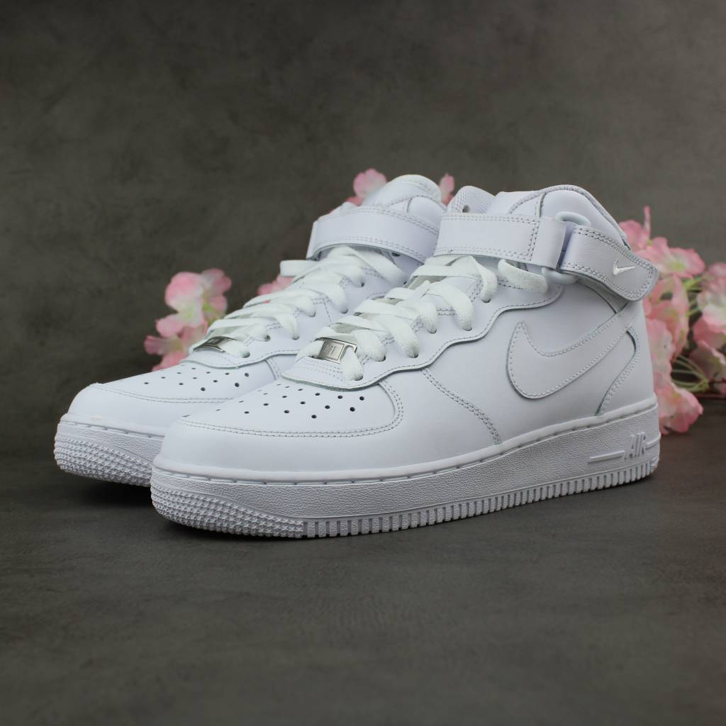 0f130f91bd68 Nike Air Force 1 Mid GS (White) - Sunika Amsterdam