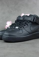 Nike Air Force 1 Mid GS (Black)