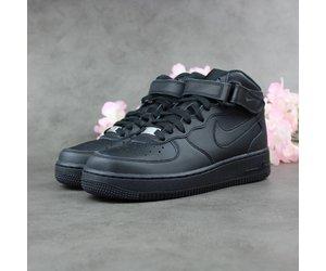 28b15e705762 Nike Air Force 1 Mid GS (Black) - Sunika Amsterdam