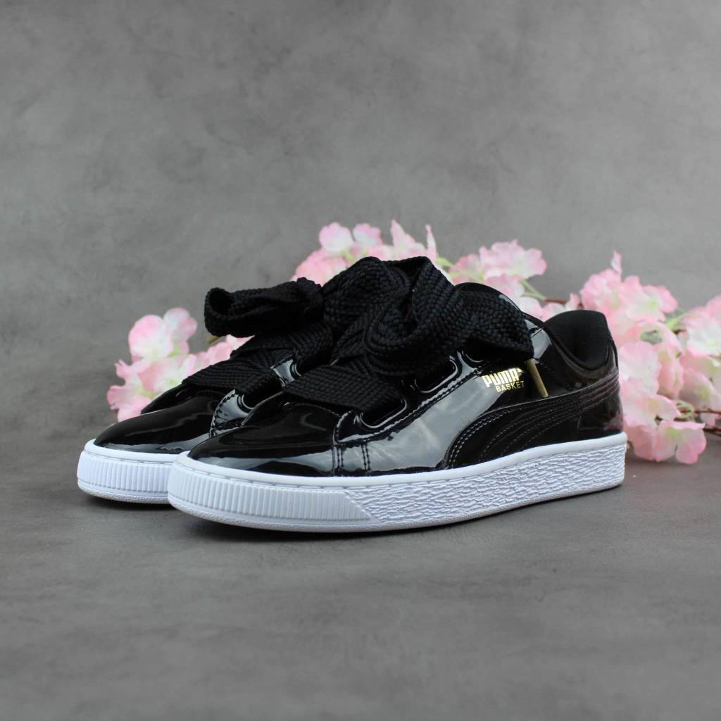 Puma Basket Heart Patent Wn's 363073-01 (Black)