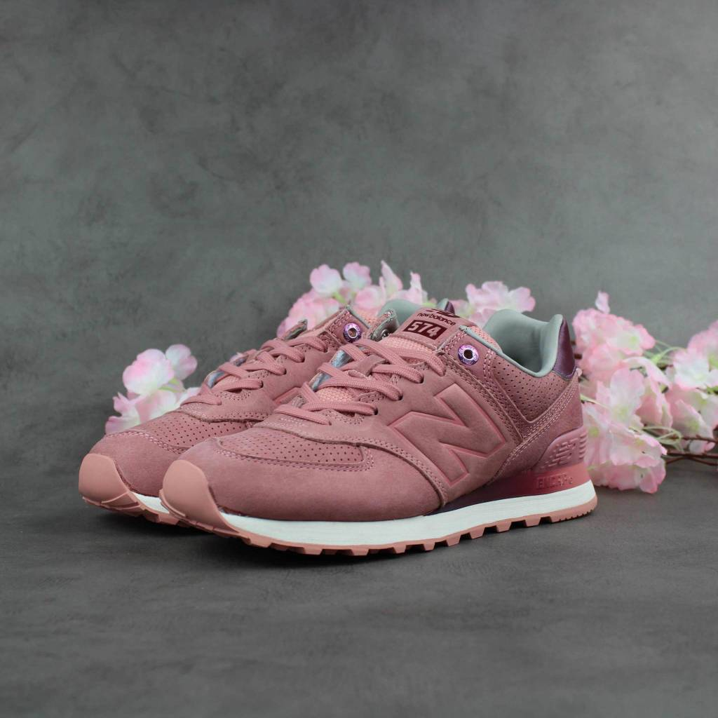New Balance WL574GRY (Dusted Peach)