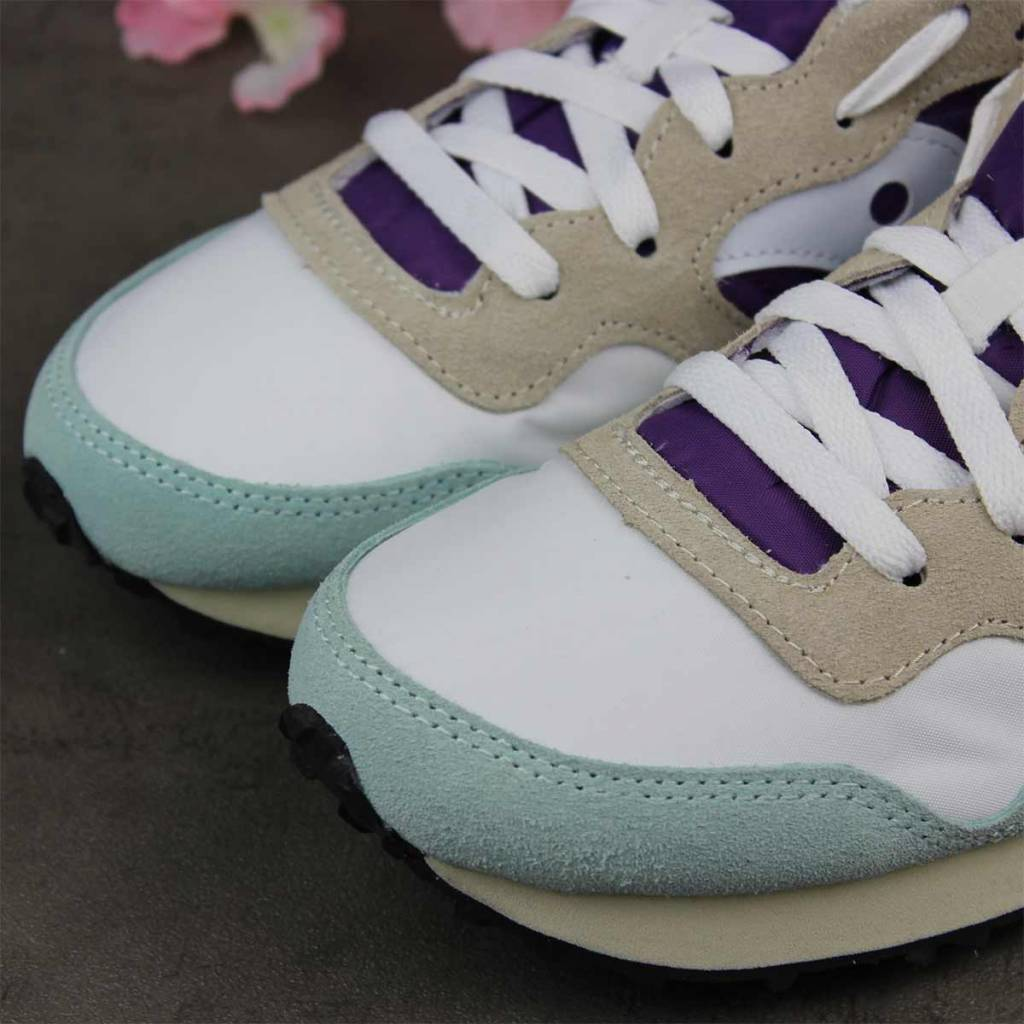 Saucony DXN Trainer Vintage (White/Purple) S60369-25