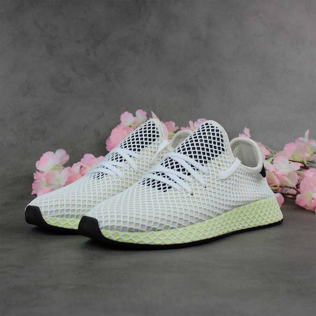 best website f0531 ff22e Adidas Deerupt Runner CQ2629 (Chalk White) - Sunika Amsterda