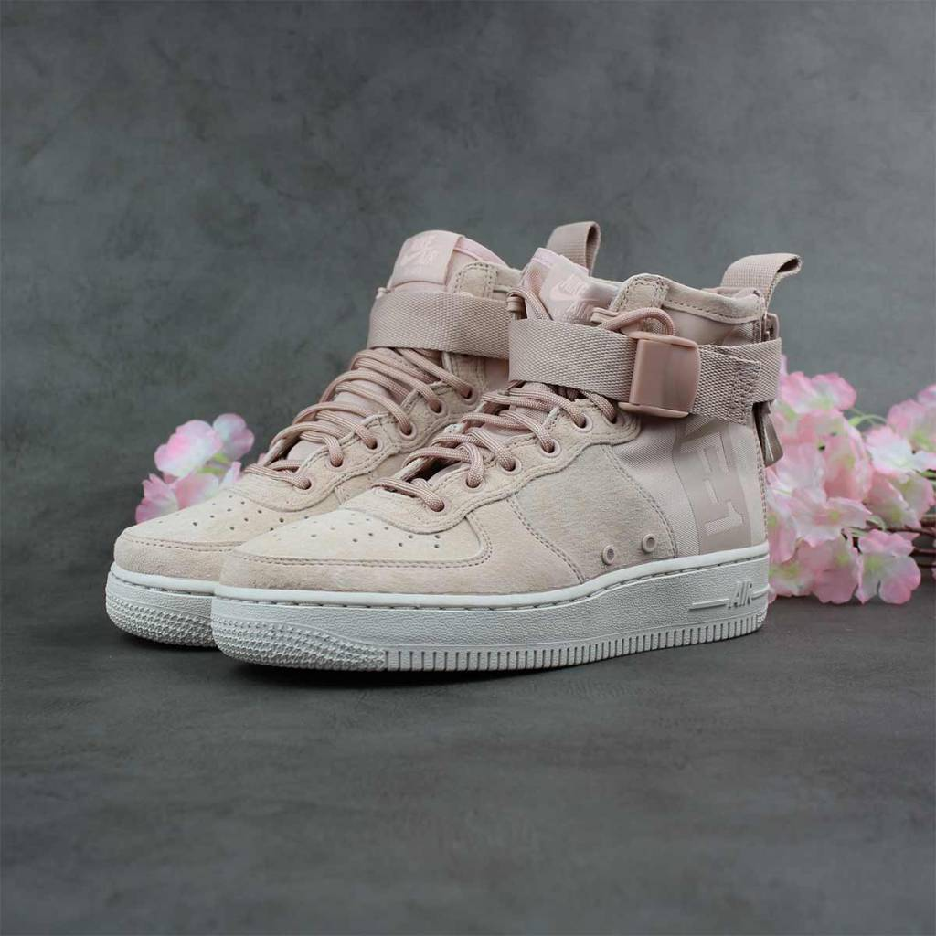info for ab8ba 15674 Nike SF Air Force 1 Mid WMNS (Particle Beige) AA3966-201