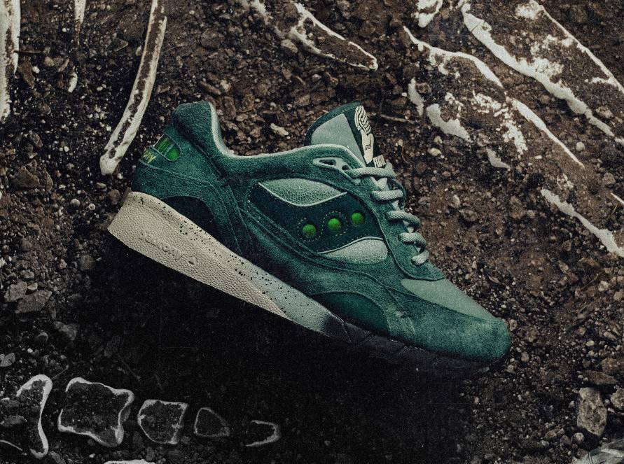 Saucony Original Shadow 6000 x Feature 'Living Fossil'