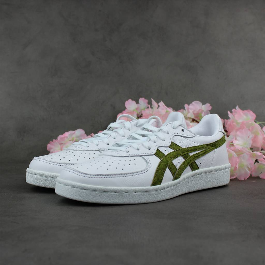 ASICS GSM (White/Hunter Green) 1183A083-100