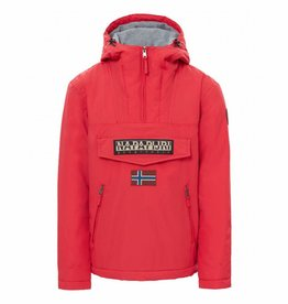 Napapijri Rainforest Pocket Jacket N0YGNLR66 - Red