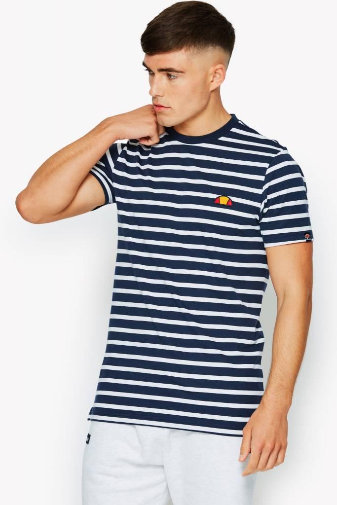 Ellesse Sailo Stripe T-Shirt (Navy) SHA06341