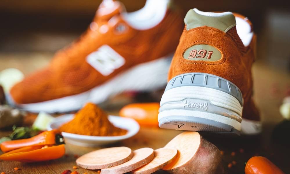 New Balance M991SE (Burnt Orange) Eastern Spices
