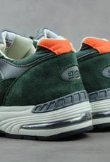 New Balance M991TNF (Olive Green/Orange Colourway)