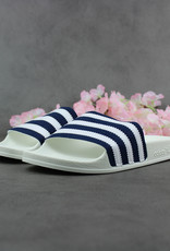 Adidas Adilette (White/Navy) CG6436