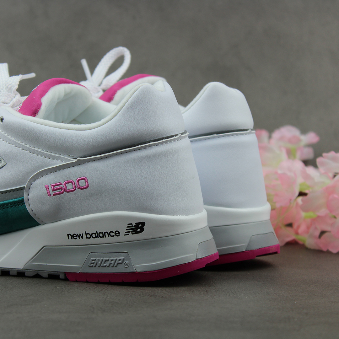 New Balance M1500WTP (White/Pink)