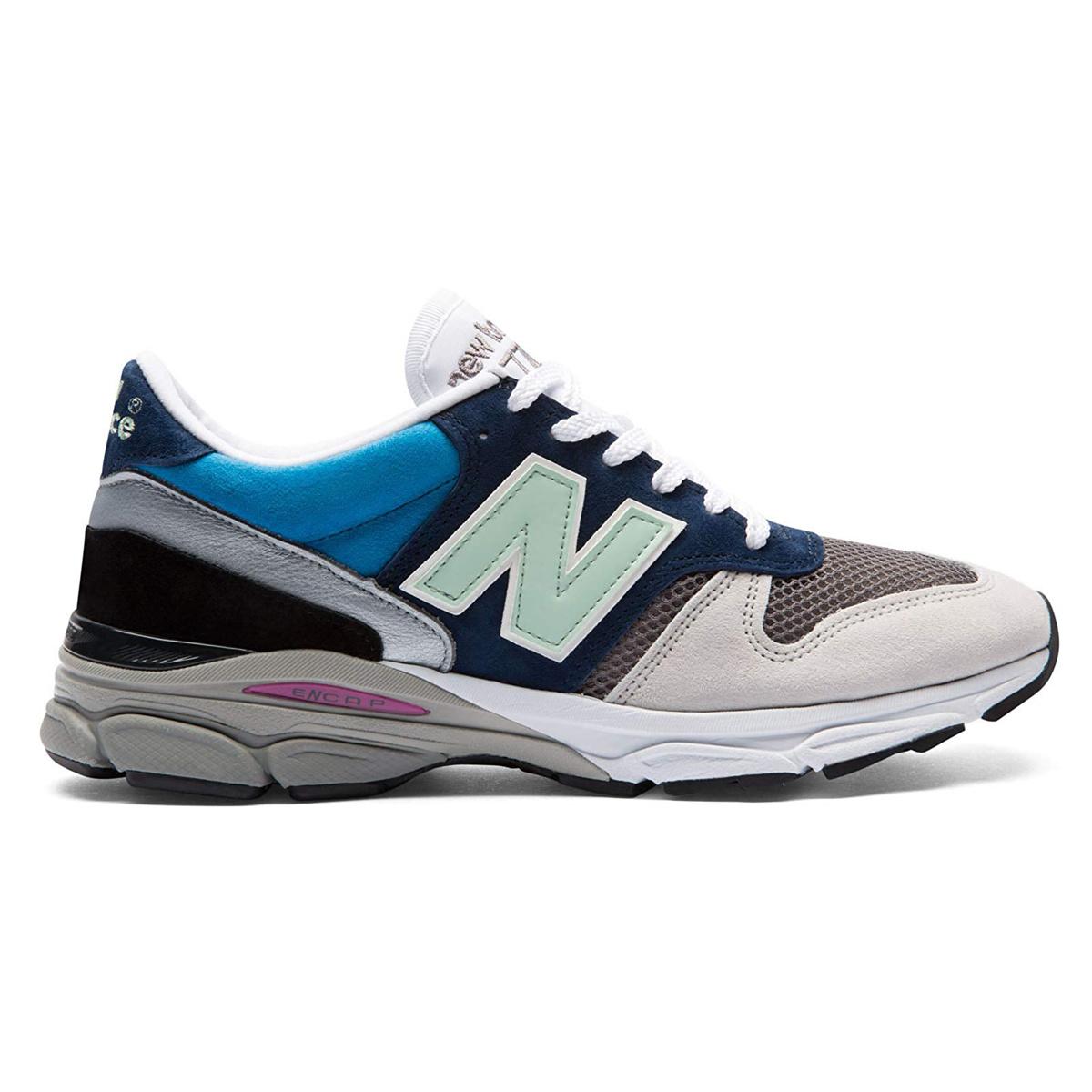 New Balance M7709FR 'Summer Nine' (White/Blue) - Made in England