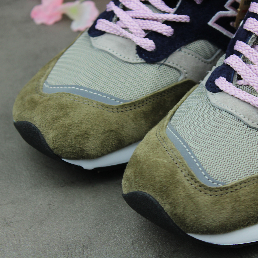 New Balance M1530KGL (Olive/Grey/Pink) - Made in UK
