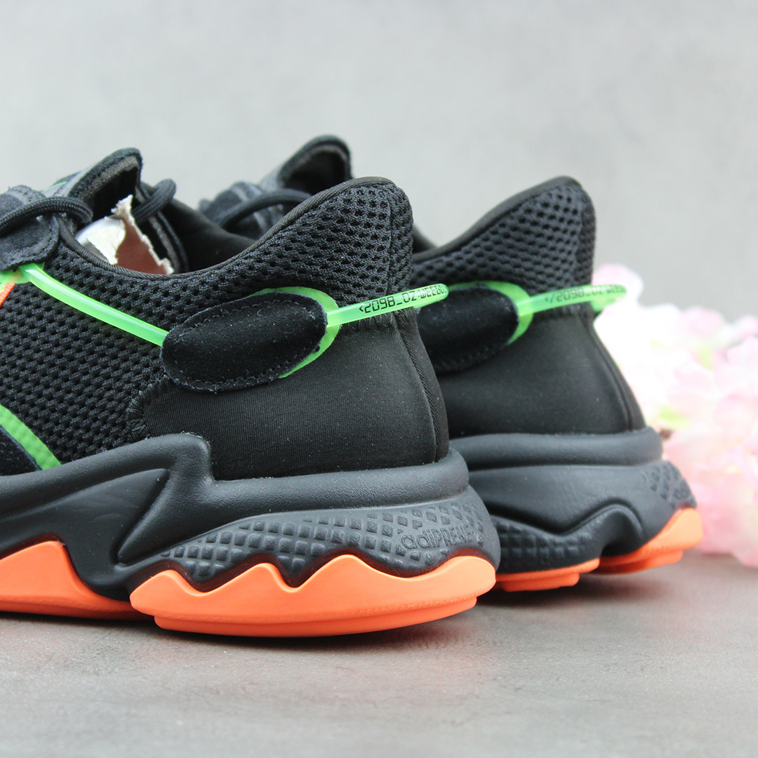 Adidas Ozweego (Core Black/Solar Green/Hi-res Coral) EE5696