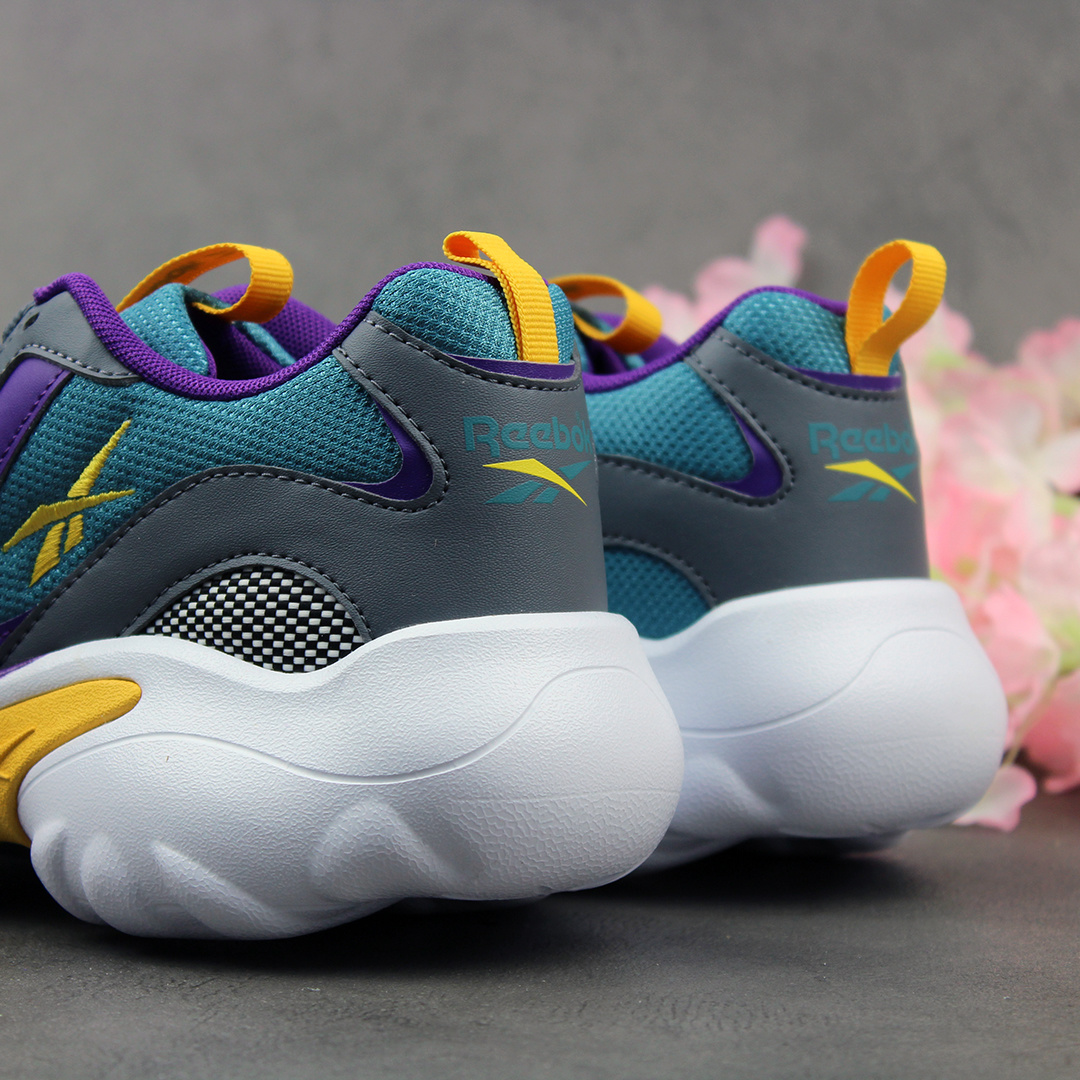 Reebok DMX Series 1000 (Cold Grey/Mist/Purple/Yellow) DV8745