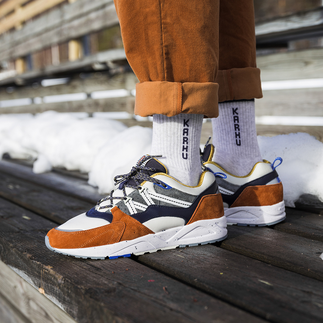 Karhu Fusion 2.0 'Cross-Country Ski Pack' (Leather Brown/Night Sky) F804062