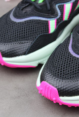 Adidas Ozweego W (Core Black /Shock Lime/Shock Pink) EE5714