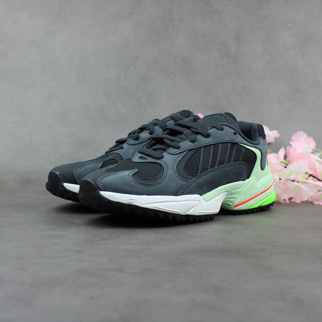 Adidas YUNG-1 Trail (Carbon/Black/Glow Green) EE6538