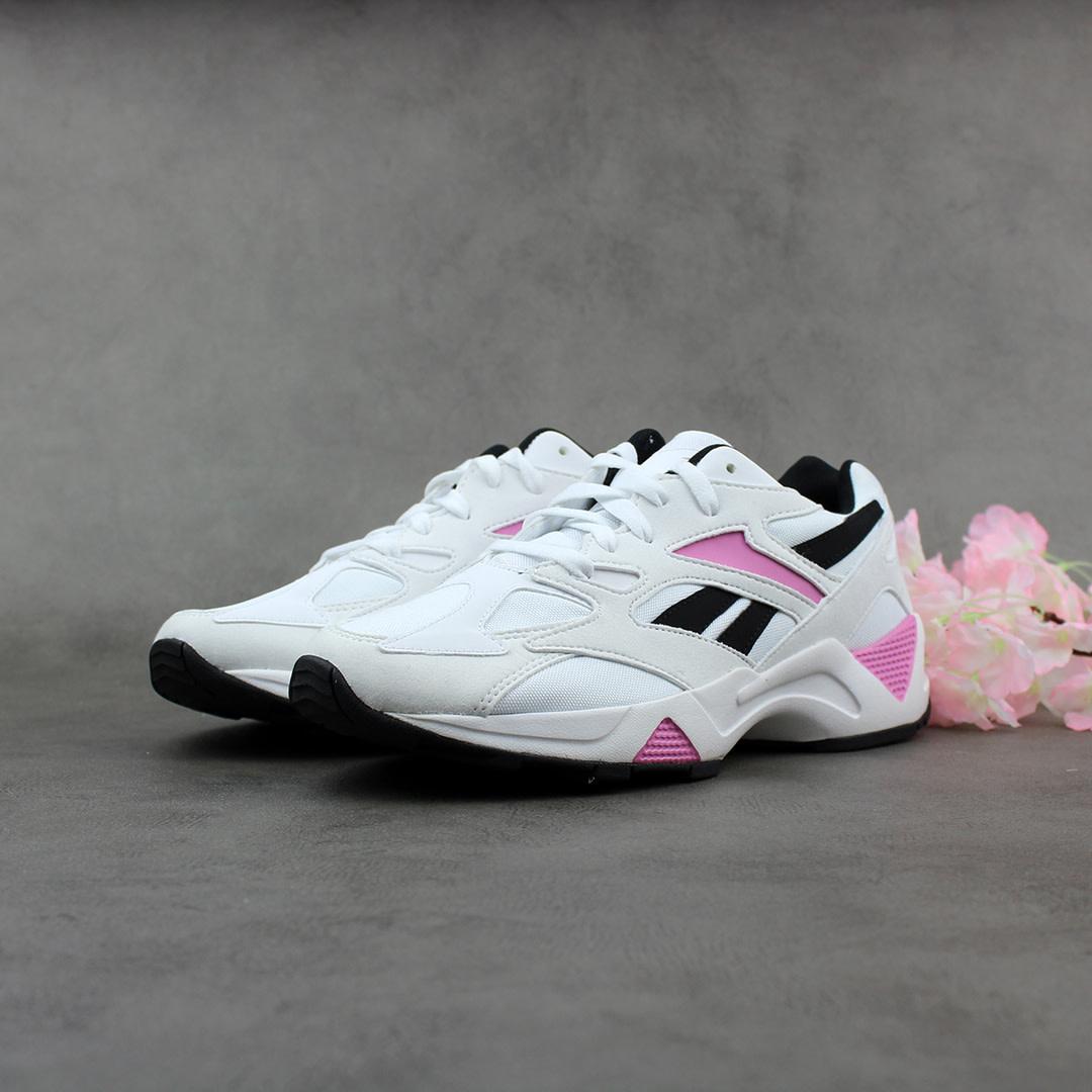 Reebok Aztrek 96 (White/Jasmine Pink/Black) EF3081