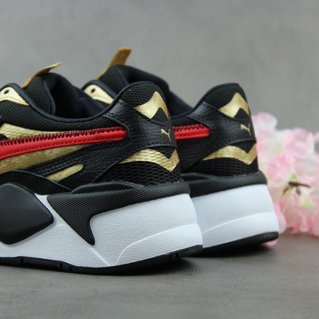 Puma RS-X3 'Chinese New Year' (Black/High Risk Red/Team Gold) 373178-02