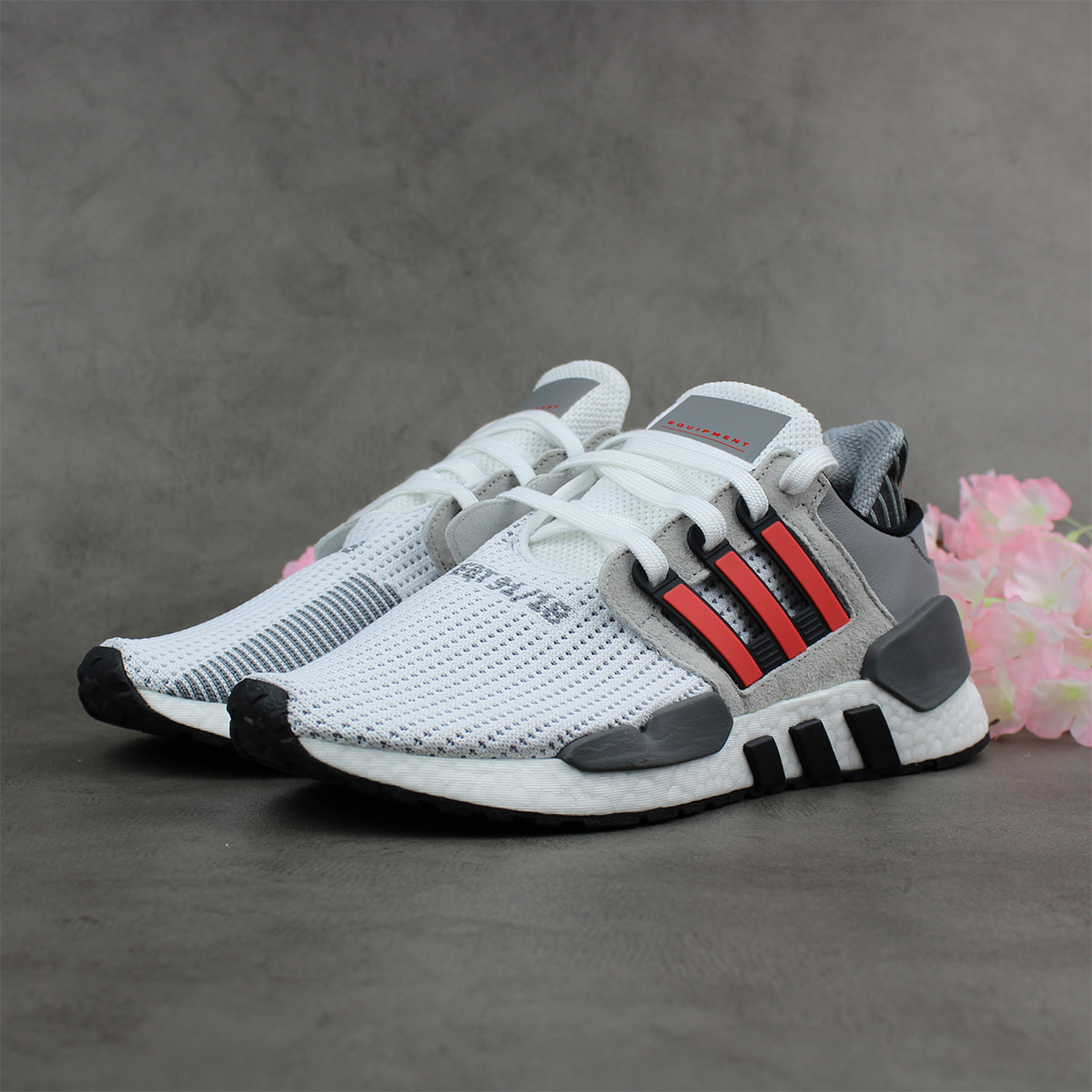 Adidas EQT Support 91/18 (White/Red) B37521