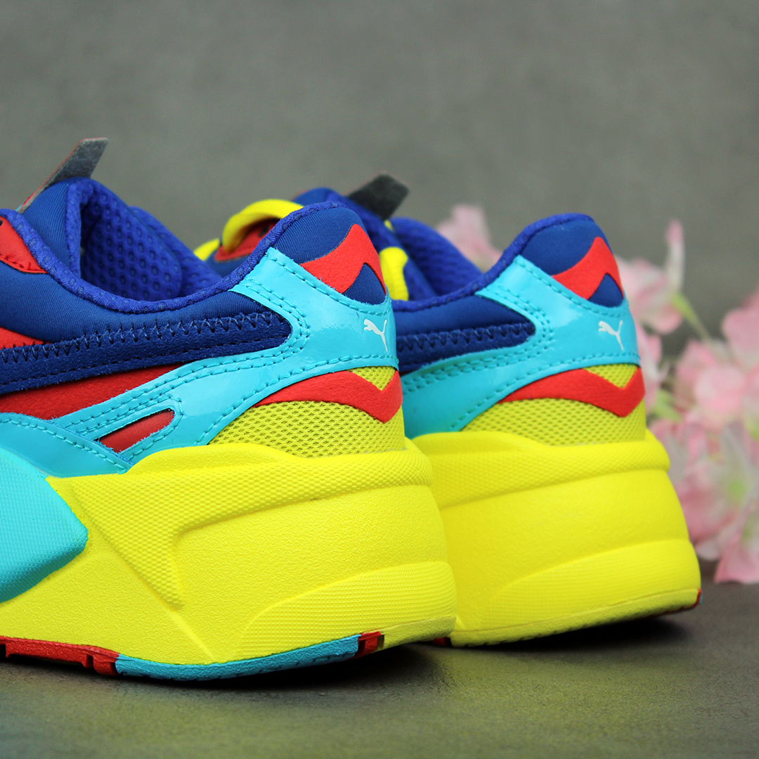 Puma RS-X3 Plastic (Limoges/High Risk Red) 371569-06