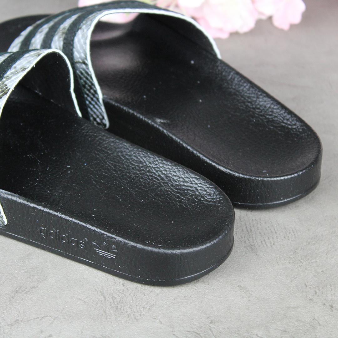 Adidas Adilette W (Grey Five/Core Black) FU7041