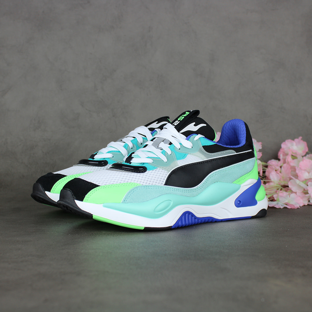 Puma RS- 2K Internet Exploring (Puma Black/Aruba Blue) 373309-01