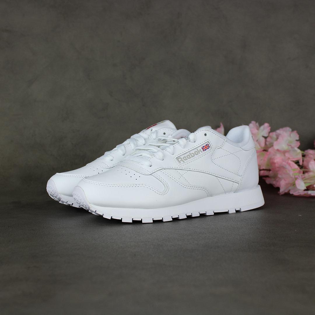 Reebok CL Leather (White) 2232
