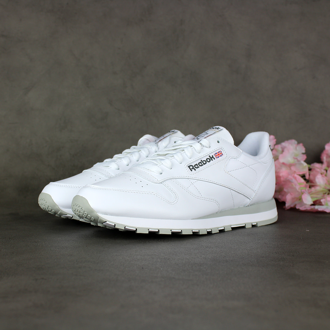 Reebok CL Leather (White) 2214