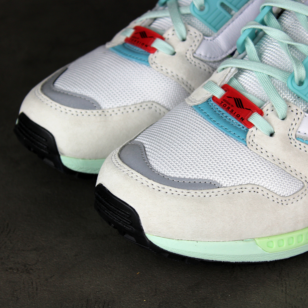 Adidas ZX 8000 (Cloud White/Purple/Light Aqua) EF4366
